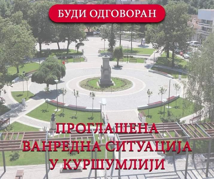 Epidemiološka situacija u Kuršumliji i dalje loša, tokom prepodneva oko 30 pozitivnih