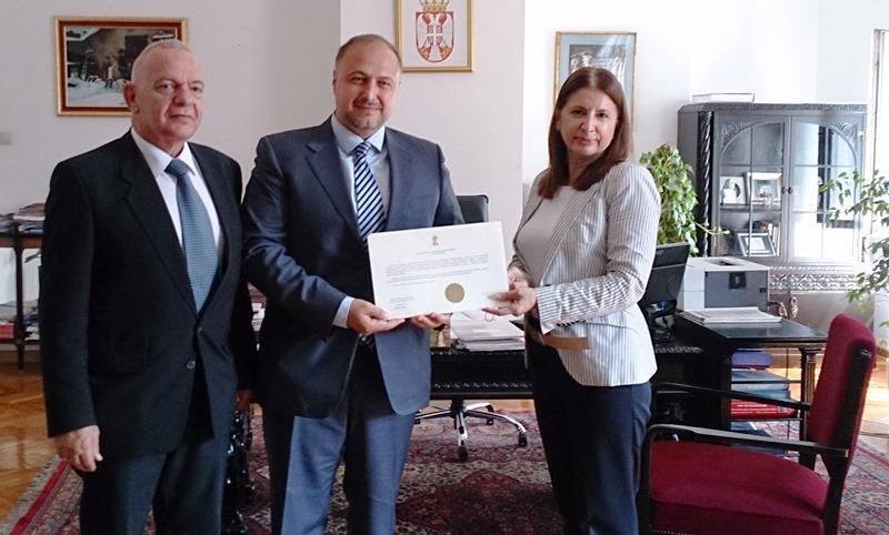Dimitar Canev novi konzul Bugarske u Nišu