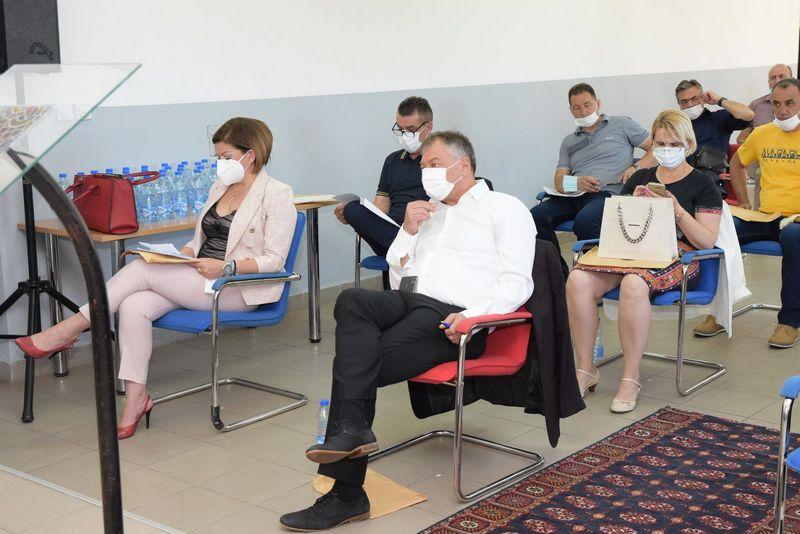 Novi predsednik surduličke skupštine Zoran Mitić, predsednica opštine ponovo Aleksandra Popović