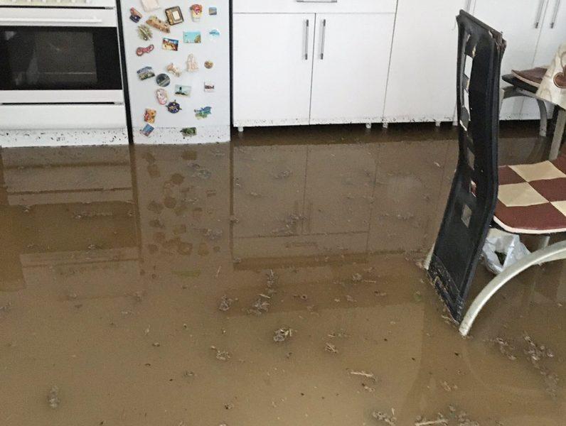 Poplavljen pomoćni objekat zbog Telekomovih iskopavanja