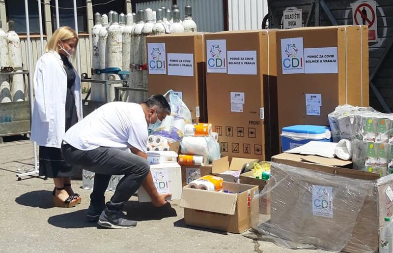 CDI uručio vrednu donaciju vranjskom zdravstvenom centru