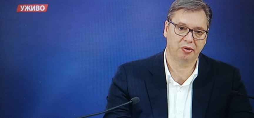 Vučić najavio da će se vakcinisati na jugu Srbije, ali i da će biti hapšenja u Nišu i Vranju