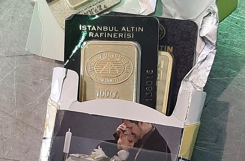 Sakrili zlatne pločice u kutiji cigareta