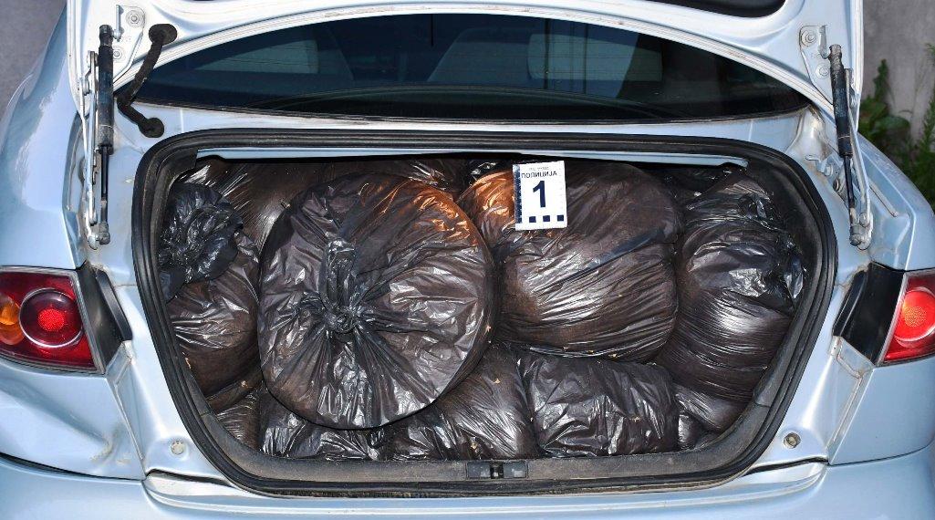 Krijumčario 200 kilograma rezanog duvana