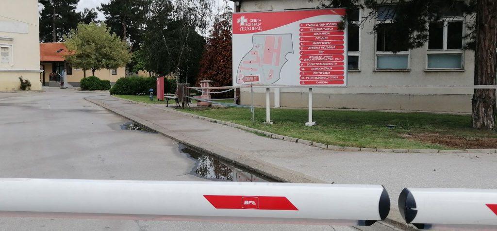 Opšta bolnica u Leskovcu ponovo u kovid sistemu, hospitalizovano 14 pacijenta