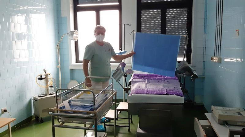 U Opštoj bolnici formirano i Covid porodilište, obavljen prvi porođaj (video)