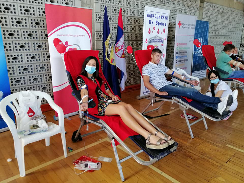 Pokloni život, daj krv u četvrtak od 10 do 14 časova