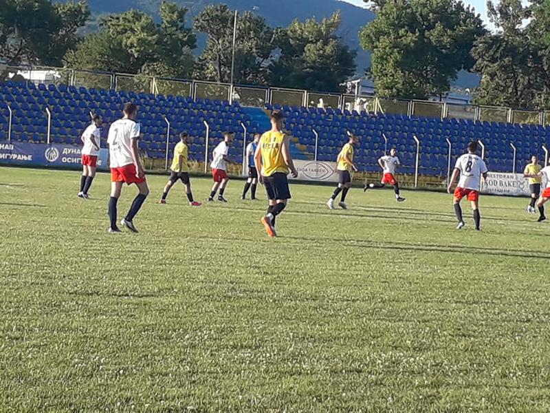 Pred novu sezonu Prve lige Srbije Dinamo odigrao tri kontrolne utakmice