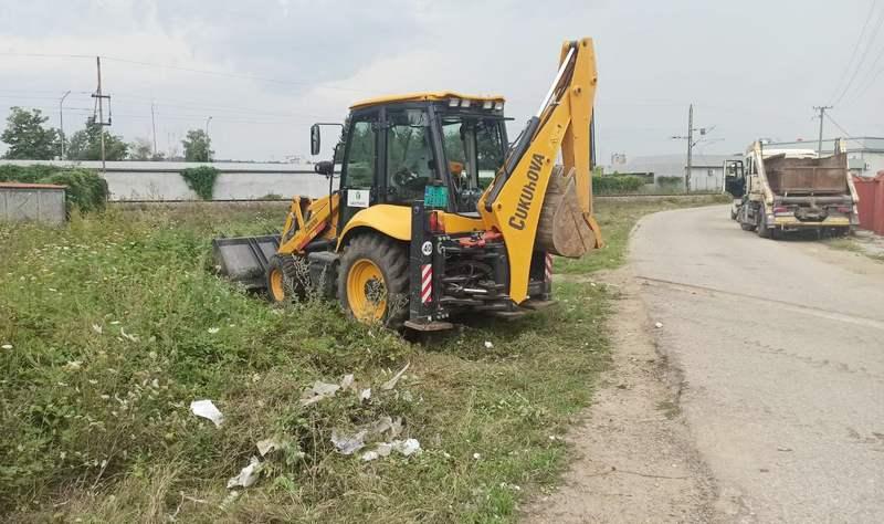 Akcija čišćenja i u naselju Kumalak