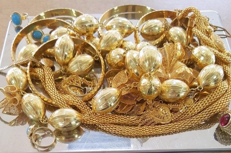 Na Gradini zaplenjeno oko 800 grama zlatnog nakita