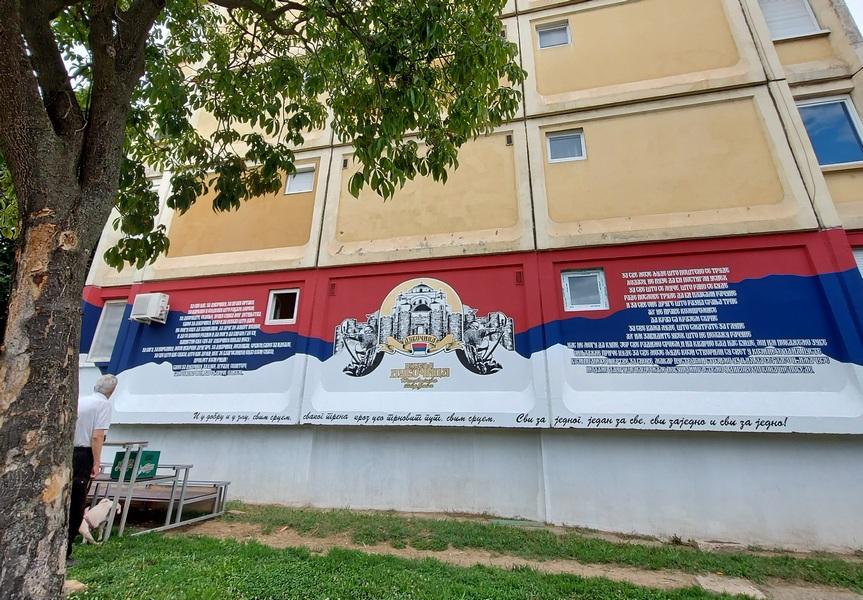 Još jedan mural u Dubočici posvećen ljudima koji ne puze