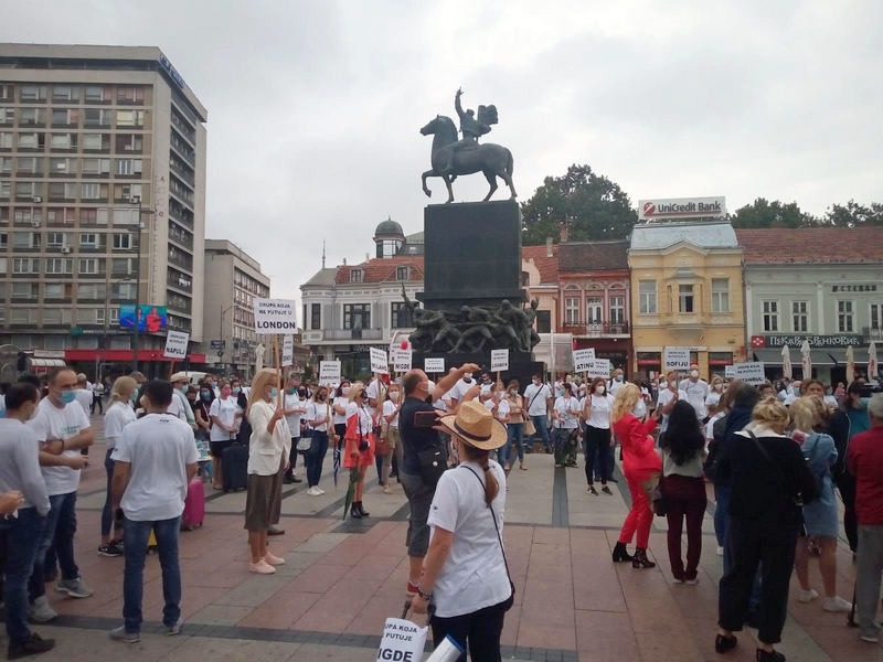 Protest radnika u turizmu: Ako država ne pomogne slede otpuštanja