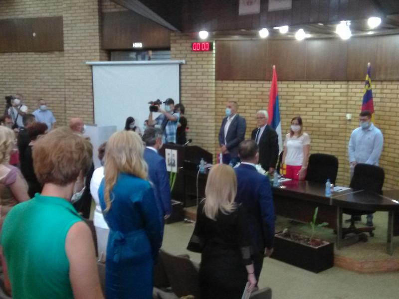 Dejan Tričković ponovo predsednik Skupštine grada Vranja