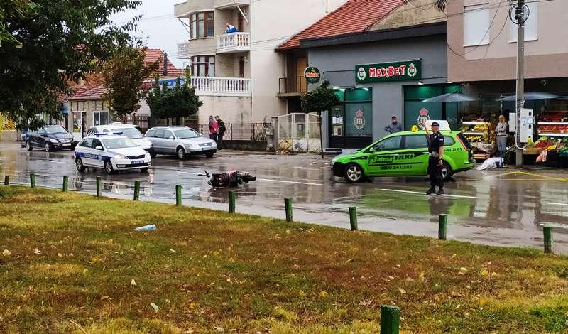 Taksista pokosio motociklistu u Suvoj reci