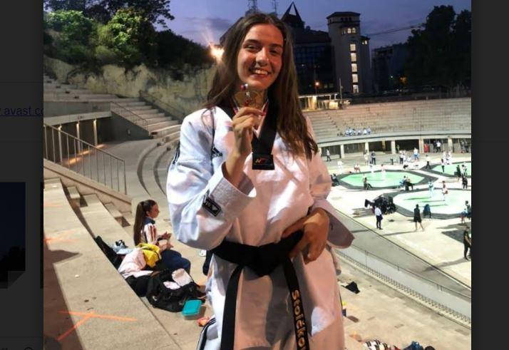 Nišlijka prvakinja Srbije u tekvondou