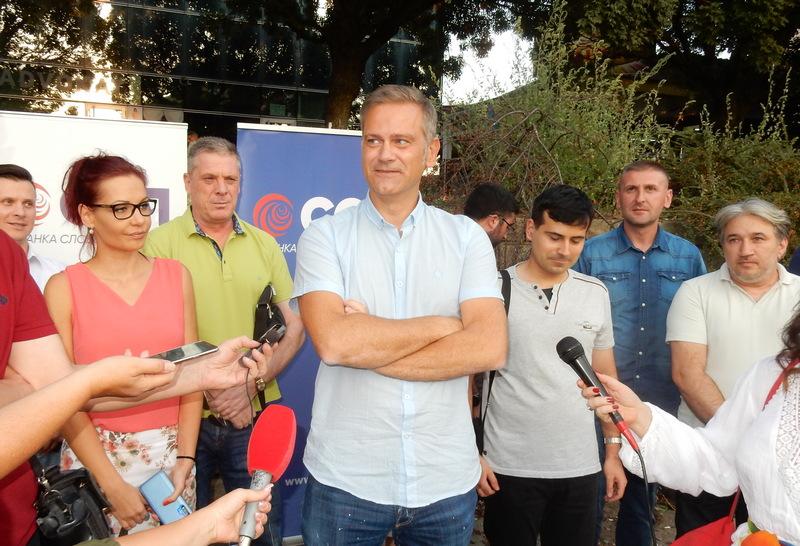 Leskovac: Borko Stefanović najavio promenu vlasti u Srbiji i poručio da razlog za strah imaju samo funkcioneri SNS-a (video)