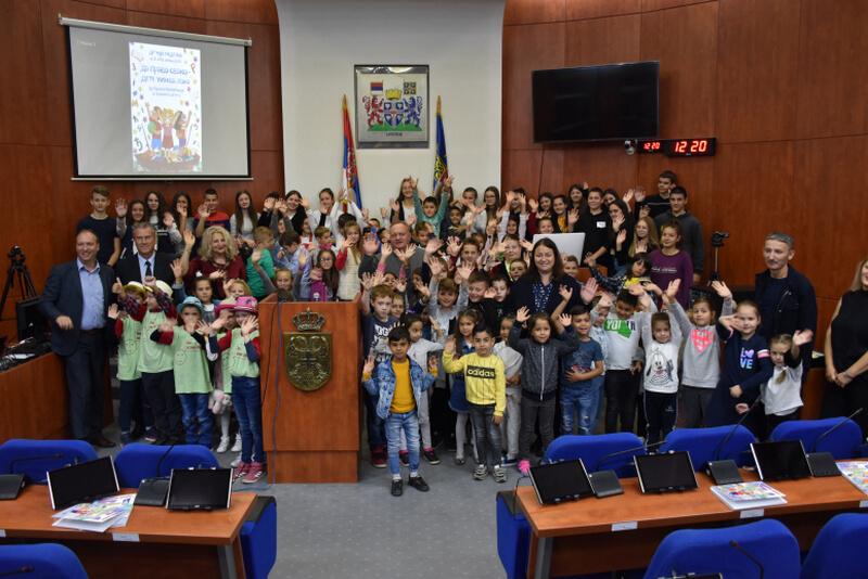 Gradonačelnik Leskovca čestitao mališanima polazak u školu