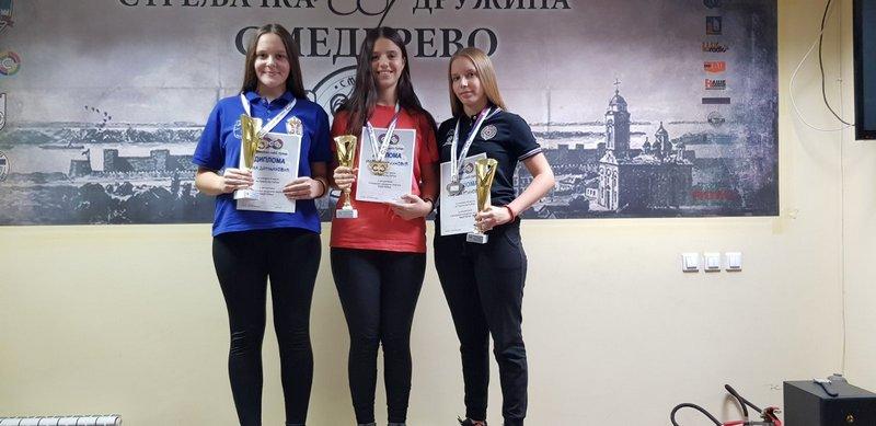 Leskovčanka Marta Mratinković prvakinja Srbije u gađanju vazdušnim pištoljem