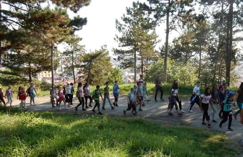 U Leskovcu Dan pešačenja pod maskama