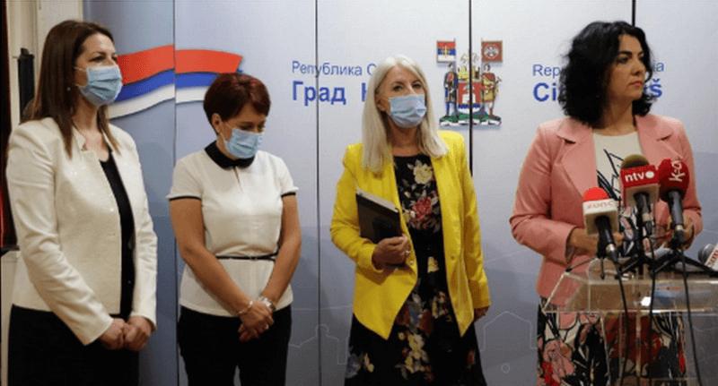 Sanja Stajić i Vladislava Ivković nove pomoćonice gradonačelnice Niša