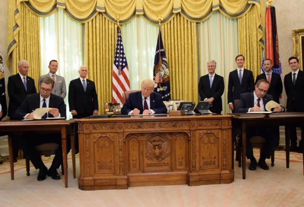 Evo šta je potpisano u Beloj kući – TEKST SPORAZUMA
