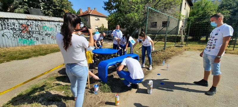 U Radničkom naselju iza benzinske pumpe, NIS uredio i igralište za decu