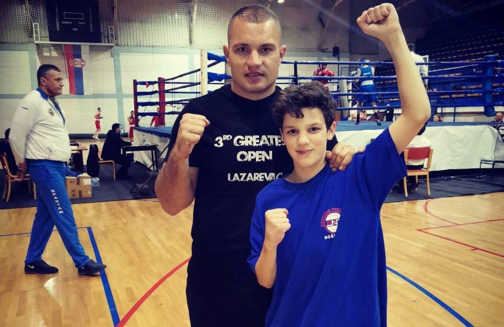 Bokseri iz Lebana uspešni na prvenstvu Srbije
