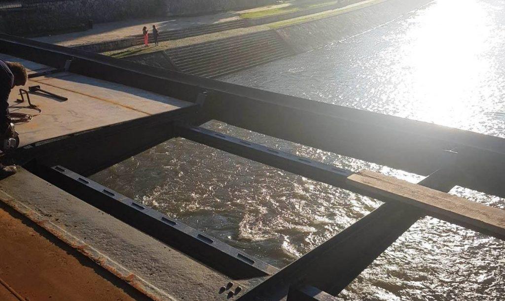 Iz Nišvila predlažu staklene platforme na novom mostu kod tvrđave
