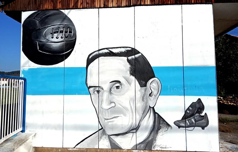 Osnivač FK Vlasina dobio mural