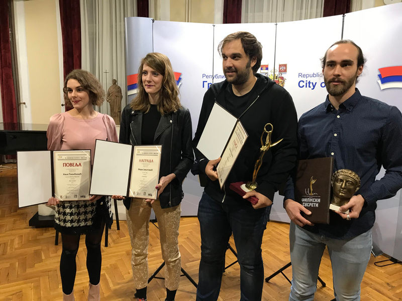 Filipu Đurići Gran prix, a Ivani Vuković Carica Teodrona na Filmskim susrteima u Nišu