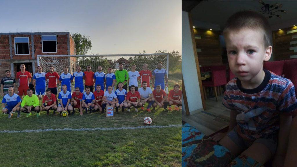 Fudbaleri vode borbu za ozdravljenje malog Stefana iz Leskovca