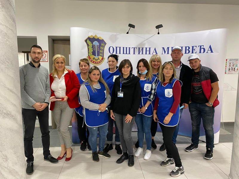 Pomoć u kućama za odrasle osobe sa invaliditetom i stare osobe u selima na teritoriji opštine Medveđa