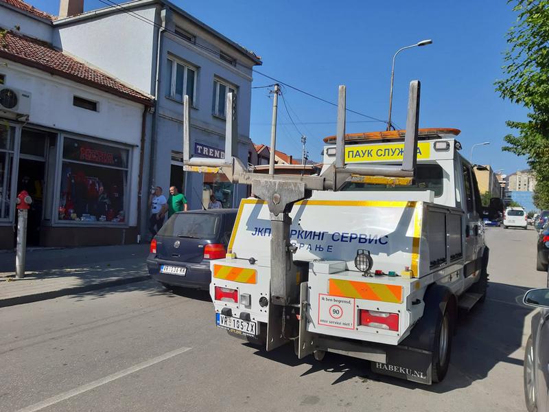 Uskoro video pauk na ulicama grada Vranja