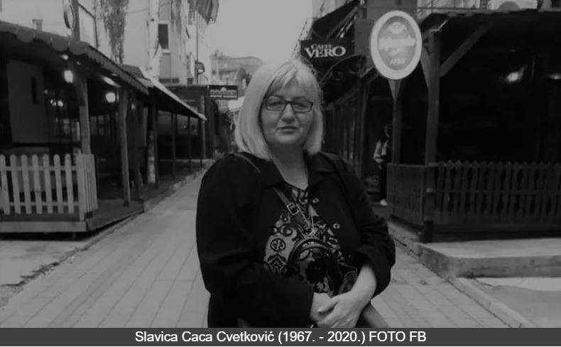 Preminula novinarka Slavica – Caca Cvetković