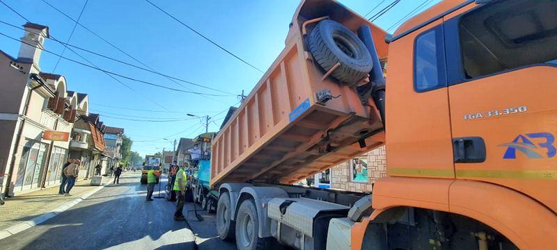 Rekonstukcija ulice Ivana Milutinovića pri kraju