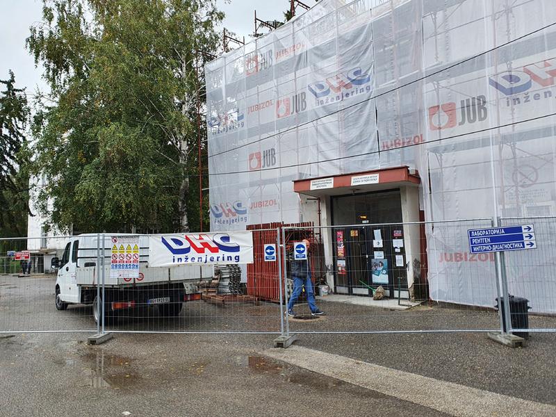 Počela rekonstrukcija vranjske Opšte bolnice