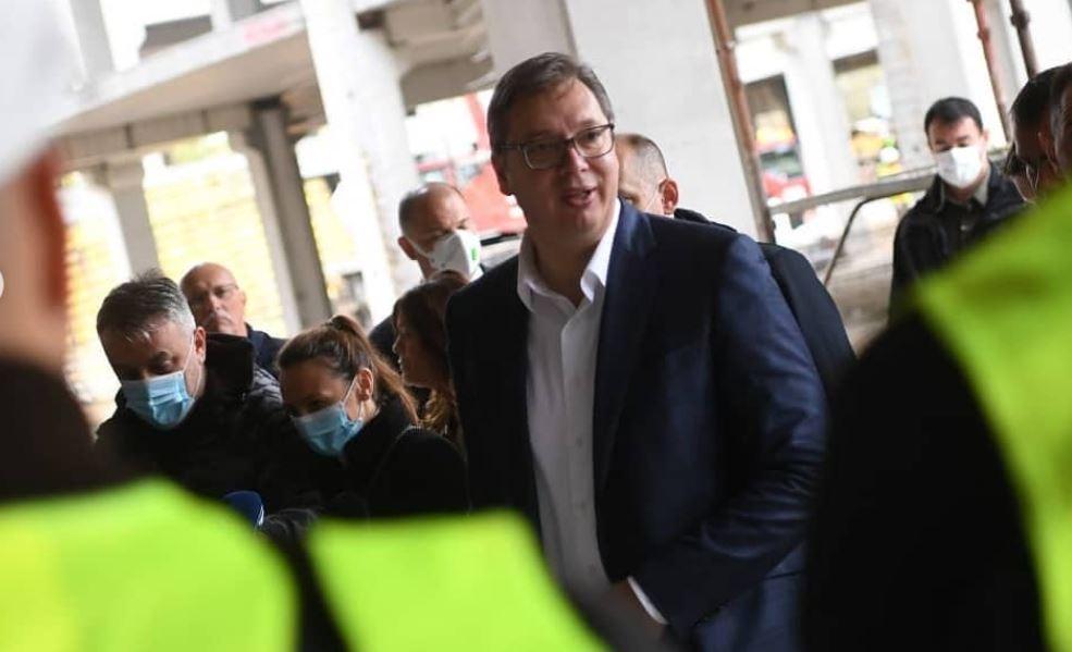 Vučić: Gradimo više nego u Titovo vreme