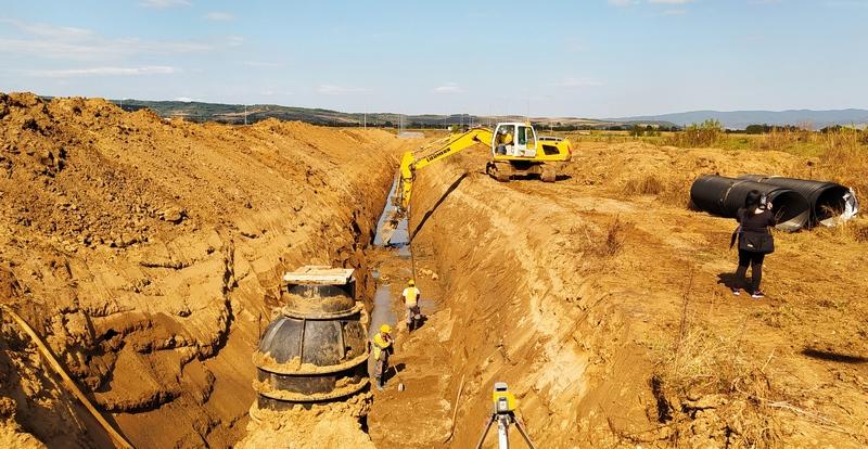 U Zelenoj zoni se gradi i atmosferska kanalizacija