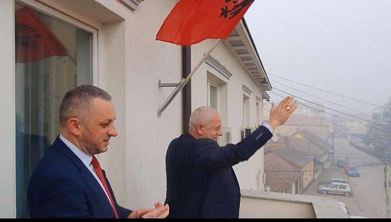 U Bujanovcu i Preševu istaknute zastave Albanije