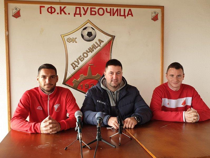 Fudbaleri Dubočice sutra protiv IMT Novi Beograd bez bele zastave