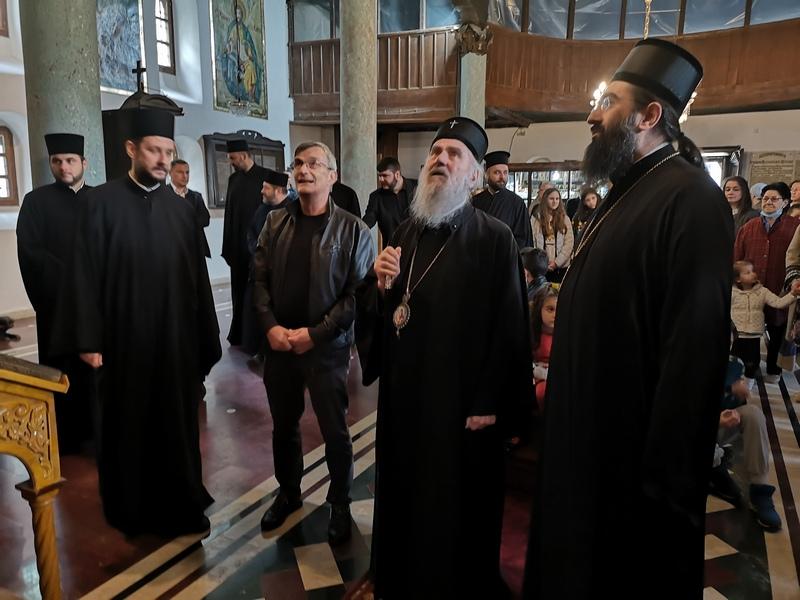 Gradonačelnici sa juga Srbije se opraštaju od patrijarha