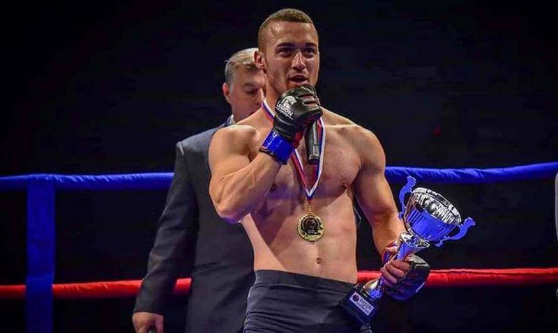 Milan Stanojković Zolhan na MMA spektaklu u Novom Sadu