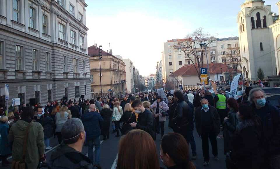 Besni privrednici na ulicama: Na protestima u Beogradu i privatnici sa juga Srbije