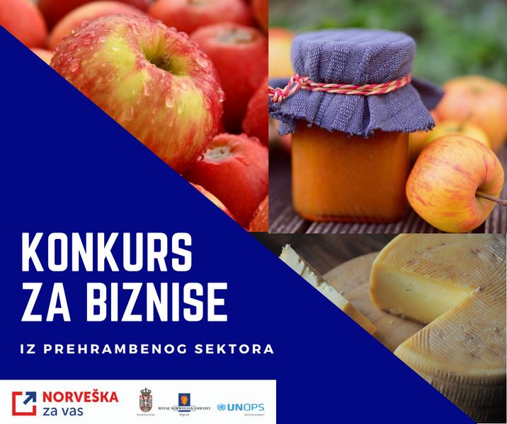 Konkurs za učešće u programu podrške prehrambenog sektora u Jablaničkom i Raškom okrugu