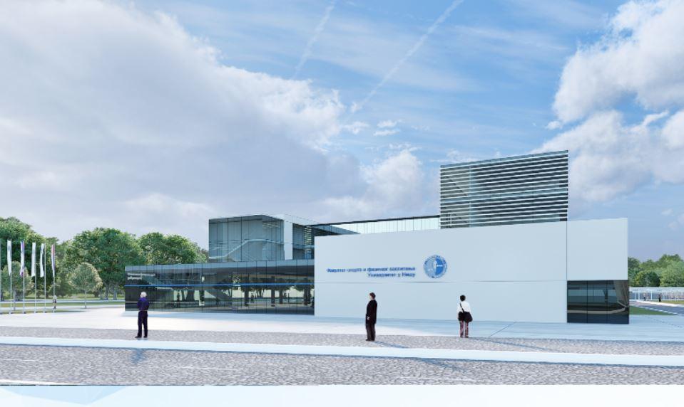 Predstavljen projekat oživljavanja zgrade Fakulteta sporta i fizičkog vaspitanja u Nišu