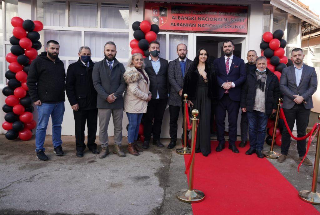 U Medveđi otvorena Kancelarija Nacionalnog saveta Albanaca