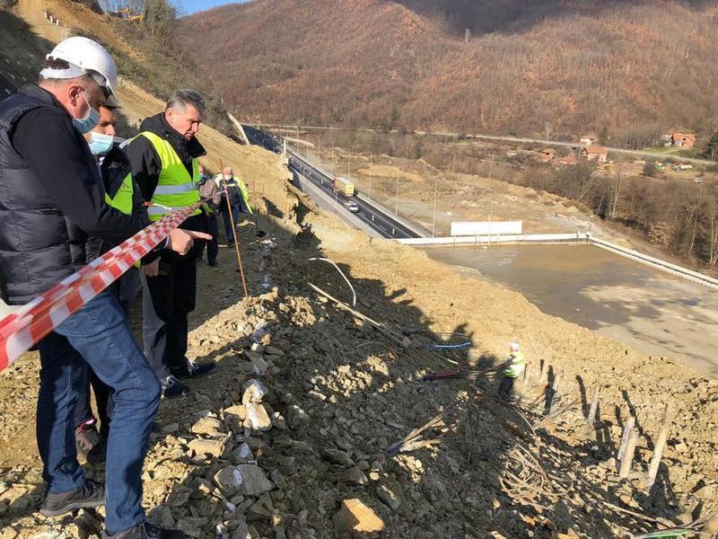 Antić: Deonica kroz Grdeličku klisuru je najteži graditeljski poduhvat do sada izveden u Srbiji