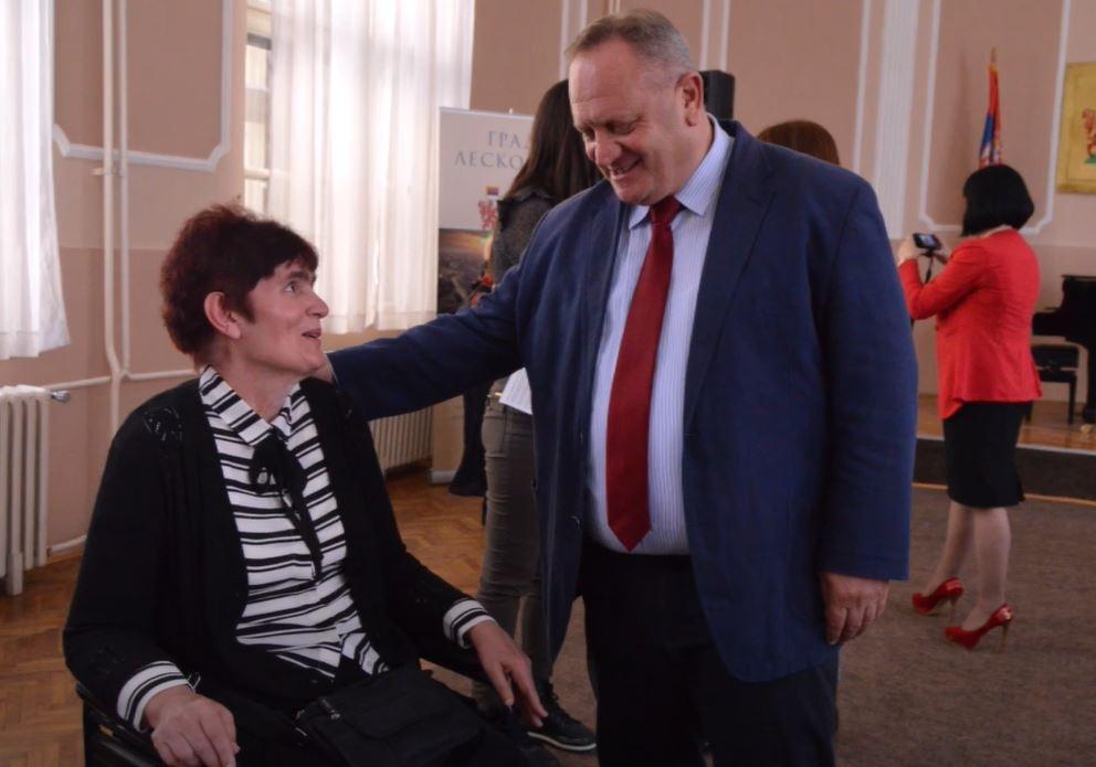 Cvetanović: Leskovac se svakodnevno trudi da poboljša uslove života osobama sa invaliditetom