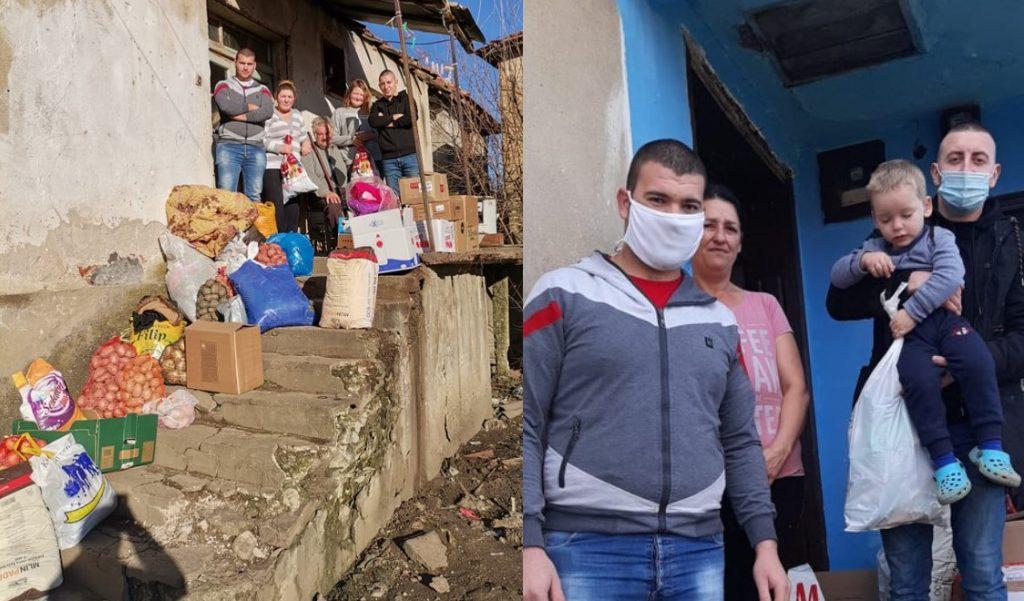 Mladići iz Velikog Trnjana ulepšali Novogodišnje praznike ugroženim porodicama iz obližnjih sela