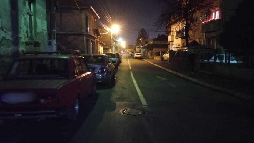 Leskovčani parkirali svoje automobile nasred kolovoza duž cele ulice, i to iz revolta